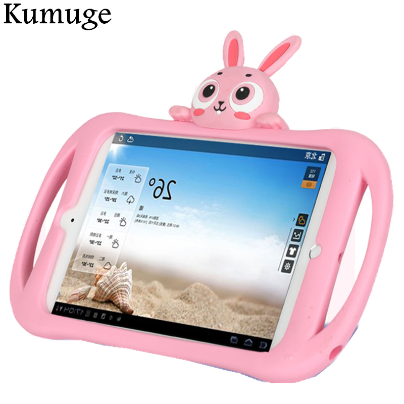 Case for iPad 2/3/4 Lovely Rabbit Kids Friendly Shockproof EVA Tablet Stand Cover Case for iPad 2 iPad 3 iPad 4 9.7 Coque Capa medium waterproof eva gopro case for hero1 2 3 3 4 warm grey