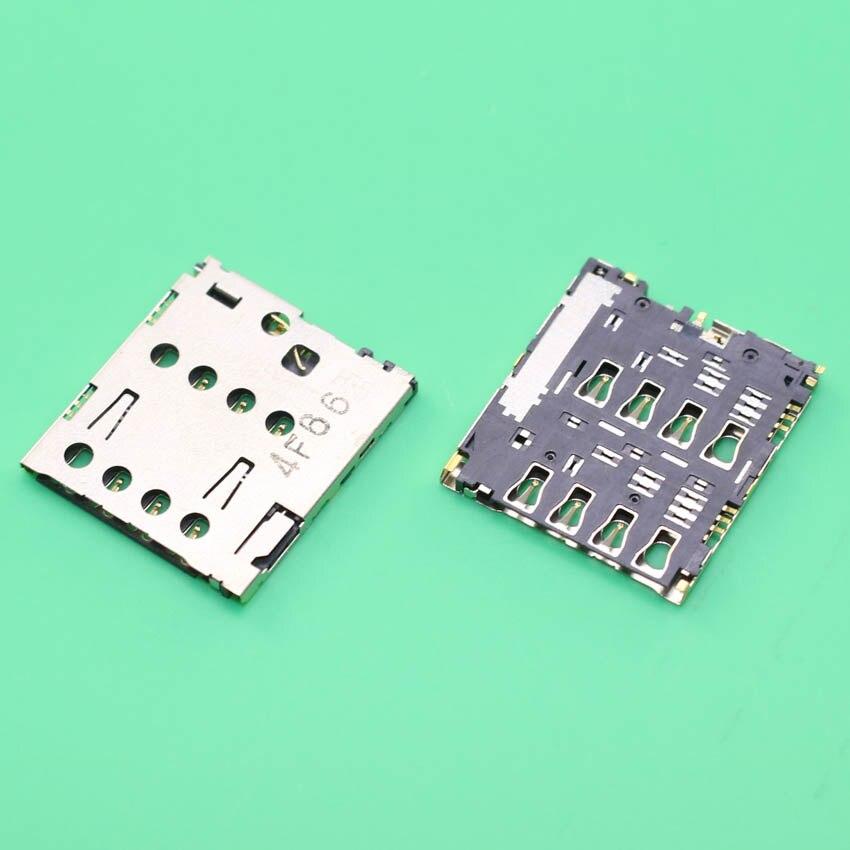 YuXi 10PCS/lot,new SIM card reader holder connector for ASUS ZenFone 5 A501CG A500CG A500KL slot tray module