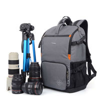 SINPAID Waterproof DSLR SLR Camera Backpack Photography Bag Cases Two Layers Design For Travel And Canon