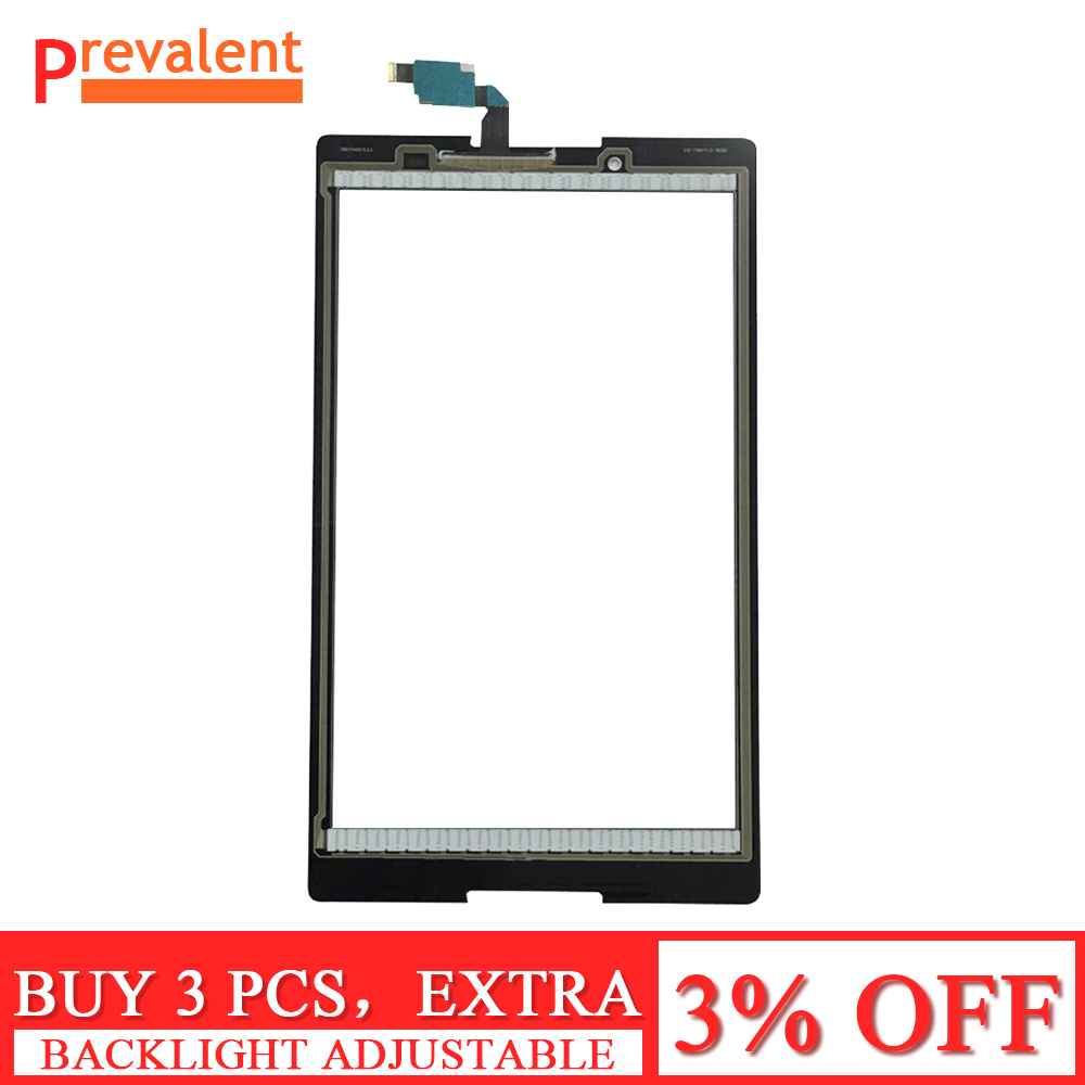 Black / White For Lenovo Tab 2 A8-50F Tab2 A8-50LC A8-50 Touch Screen Digitizer Sensor Glass Replacement Accessories
