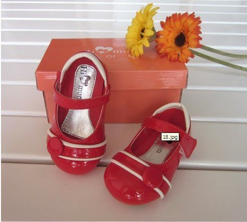 Wholesale - - Paragraph summer shoes HI MOM Korean princess baby shoes, toddler shoes, sandals--XMT3
