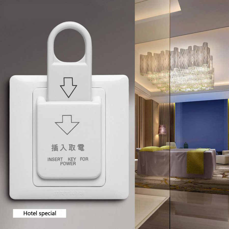 small resolution of hotel energy saving switch 86 type magnetic card plug in switch 30a three line without