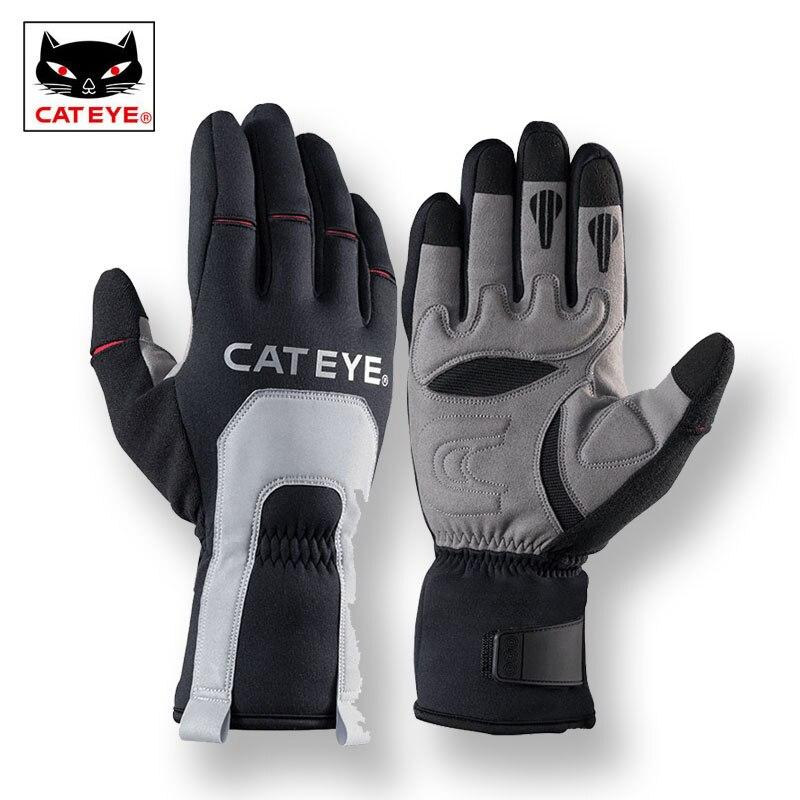 CATEYE Ski D'hiver Thermique Polaire gants couvrants Coupe-Vent Ski Moto Snowboard gants imperméables Vélo De Pêche Main