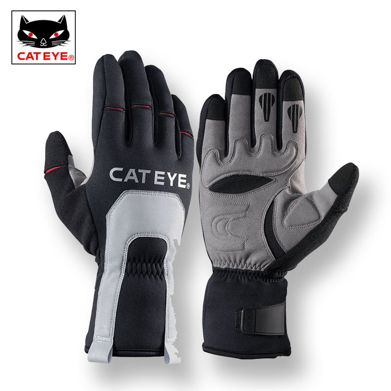 CATEYE Ski Winter Thermal Fleece Gloves Full Finger Windproof Skiing Motorcycle Snowboarding Waterproof Gloves Bike Fishing Hand simpleyourstyle default e packet 10 15 business days from china to usaoutdoor sports gloves tactical mittens men women winter keep warm bicycle cycling hiking gloves full finger military motorcycle skiing gloves