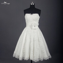 yiaibridal Wedding Dress Knee Length Bridal Gown