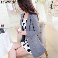 2018 Large Size Womens Business Suits Spring Autumn Casual Women Blazers Jackets Slim Long sleeve Blazer feminino Suit 3XL hl236