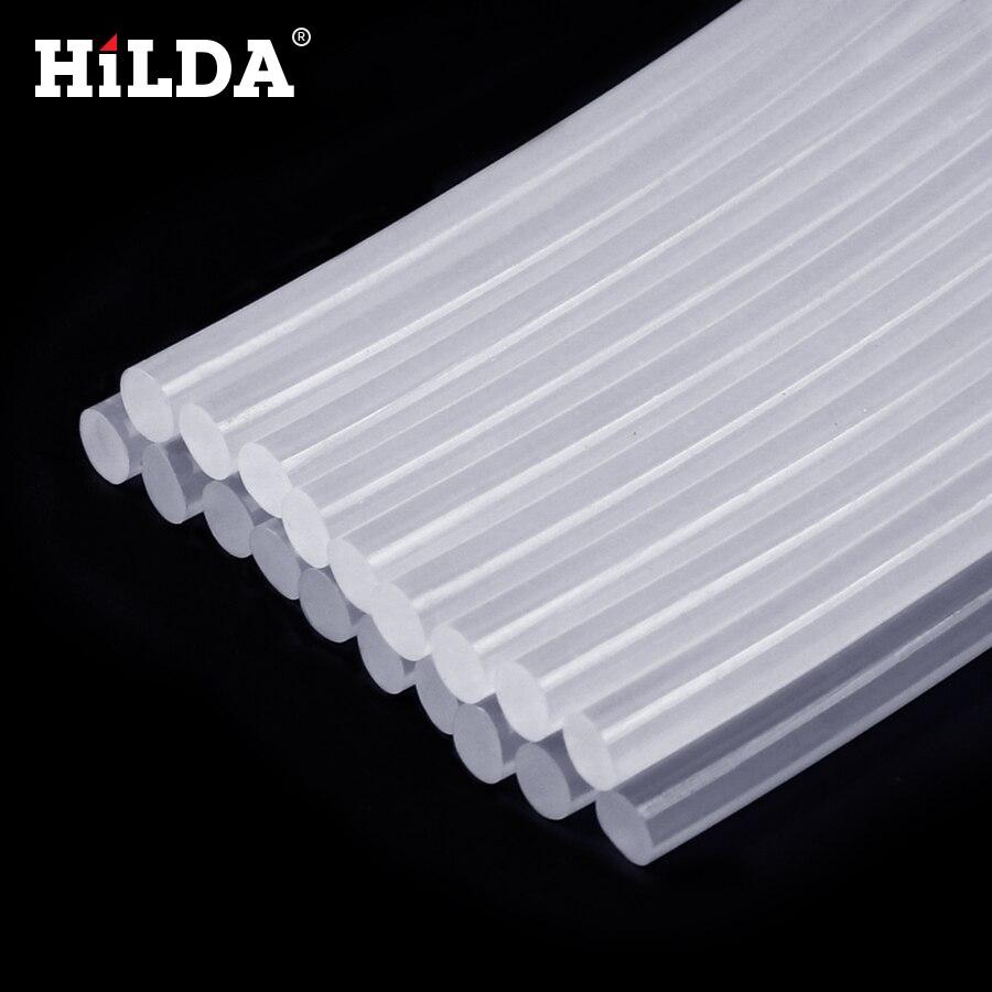 HILDA 7MM Glue Stick Hot Melt Glue Sticks Electric Glue Gun Viscosity Glue Stick Craft Album Repair Tools 7mm*10mm