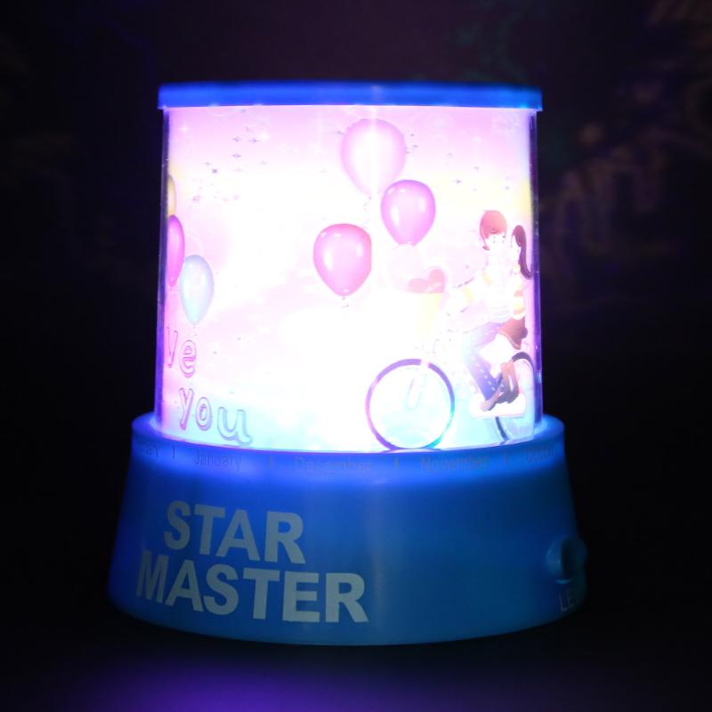 Universal Star Projector Moon Light Romantic Amazing Colorful Master Sky Night Light Kid Chidren lamp Christmas Gift Present hot sale dreamlike amazing flashing colorful star night light novelty led sky star master night lamp projector lamp