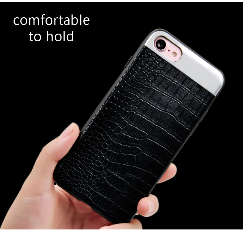 Kasatin Corrodie Pattern Leather Back Cover for iPhone 6 (4)