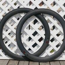 700C U Форма трубчатые обода 60 мм трубный из углеводорода обод для колеса шоссейного велосипеда шириной 23 мм ширина 25 мм велосипед клетка