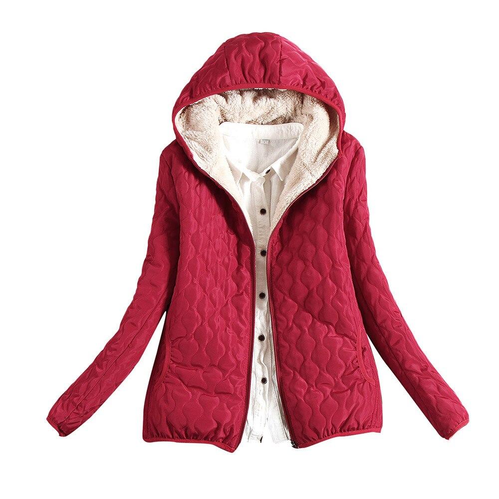 Winter Coat Women Womens Warm Coat Hooded Jacket Slim Winter   Parka   Outwear Coat Women   Parka   Ropa Mujer Invierno 2018 10