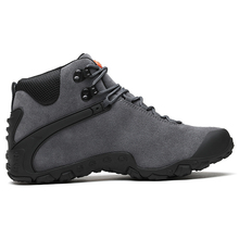 High Quality Men's Leather Winter Outdoor Hiking Trekking Shoes Sneakers For Men Sport Climbing Mountain Hunting Shoes Man high quality mens sports canvas outdoor hiking shoes sneakers for men sport wearable climbing mountain trekking shoes man