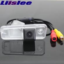 LiisLee dla Hyundai Creta 2014 ~ 2016 samochodów widok z tyłu Backup tyłu kamera parkowania noktowizor CAM wodoodporna kamera tanie tanio ACCESSORIES Z przodu Pojazd backup kamery Z tworzywa sztucznego Plastikowe + Szkło Drutu