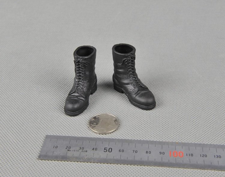 1:6 Scale Action Figure Model Toy GARAGE KIT 1/6 Military Army Combat 12'' Soldiers Paratrooper Boots Shoes - Comma'y store