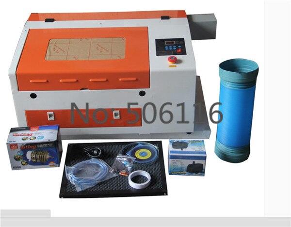 Verbesserte Version CO2 60W 110/220V Laser Gravur Schneiden Maschine mit USB port