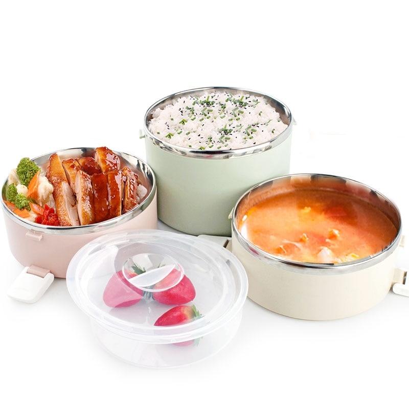 Boîte à Bento imperméable portative d'enfants de récipient de soupe de nourriture de boîte à Lunch d'acier inoxydable