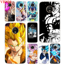 Super Saiyan Trend Accessories Phone Case For Motorola Moto G7 G6 G5S G5 E4 Plus G4 E5 Play Fit Pattern Customized Coque Cover