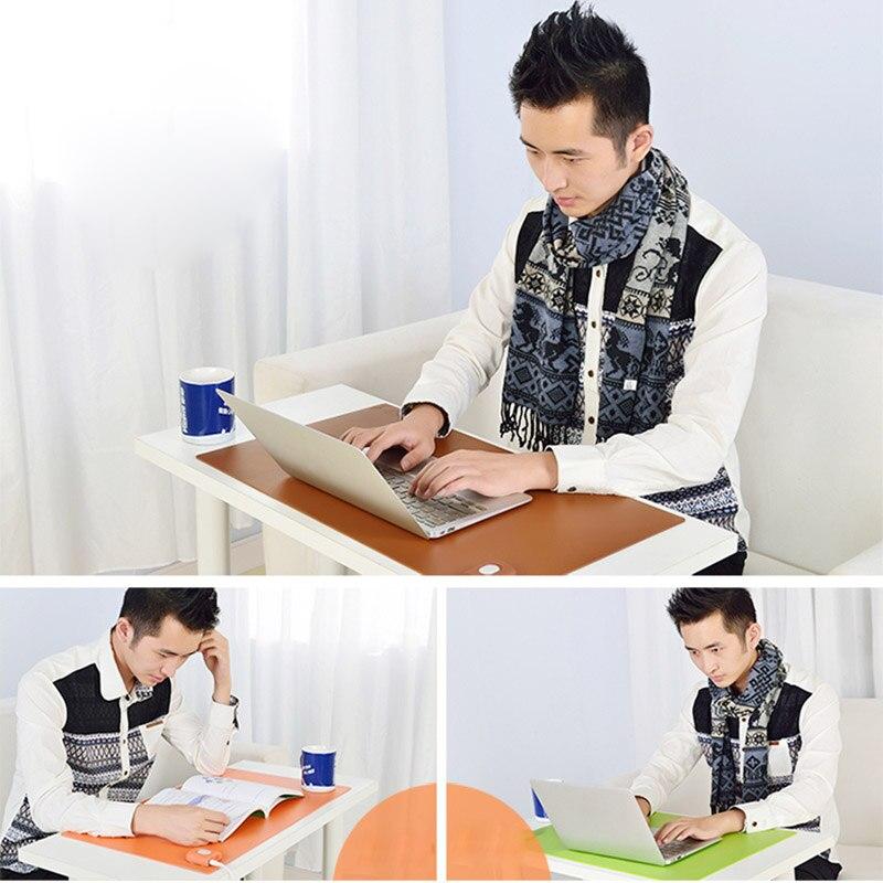 Winter Warmer Office Table Computer Mouse Pad PU Waterproof Desk Keyboard Mat Game Electric Heating Pads US Plug LSMK99