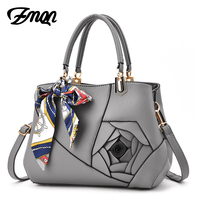 ZMQN Fashion Designer Handbags Solid Flowers Crossbody Bags For Womens Famous Brands High Quality Leather Bags