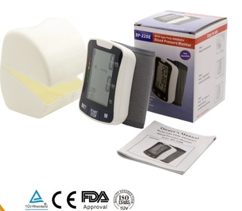 CE FDA Approved Intelligent Digital Wrist Blood Pressure Monitor 1