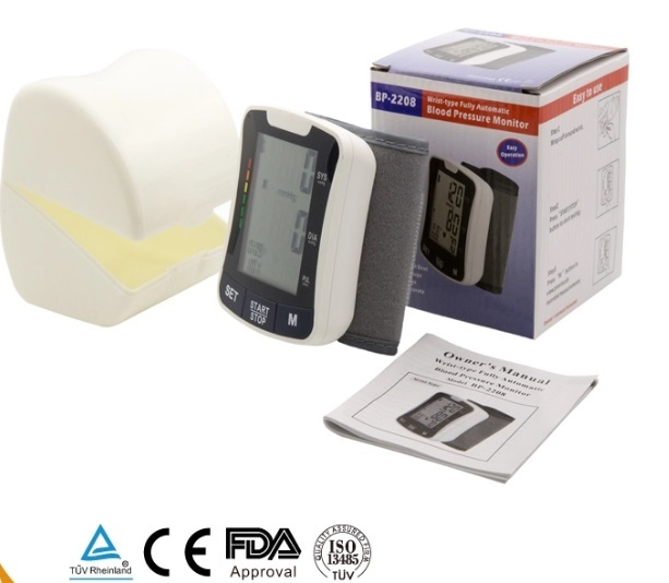 CE FDA Approved Intelligent Digital Wrist Blood Pressure Monitor 1