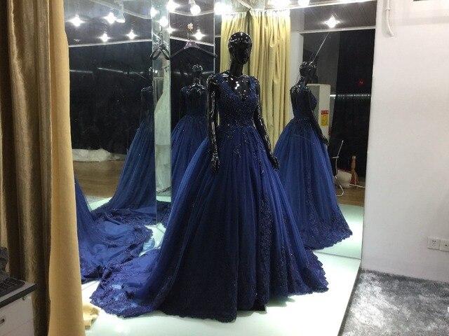 96fb21c5ad637 New Sheer Three Quarter Sleeves Winter Wedding Dress 2017 Casamento Robe De  Mariage Sexy Bridal Gowns
