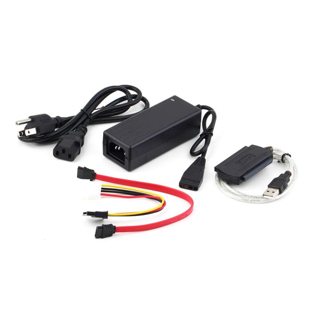 USB 2,0 a IDE SATA S-ATA 2,5 HD 3,5 HDD Disco Duro Adaptador convertidor de Cable P15