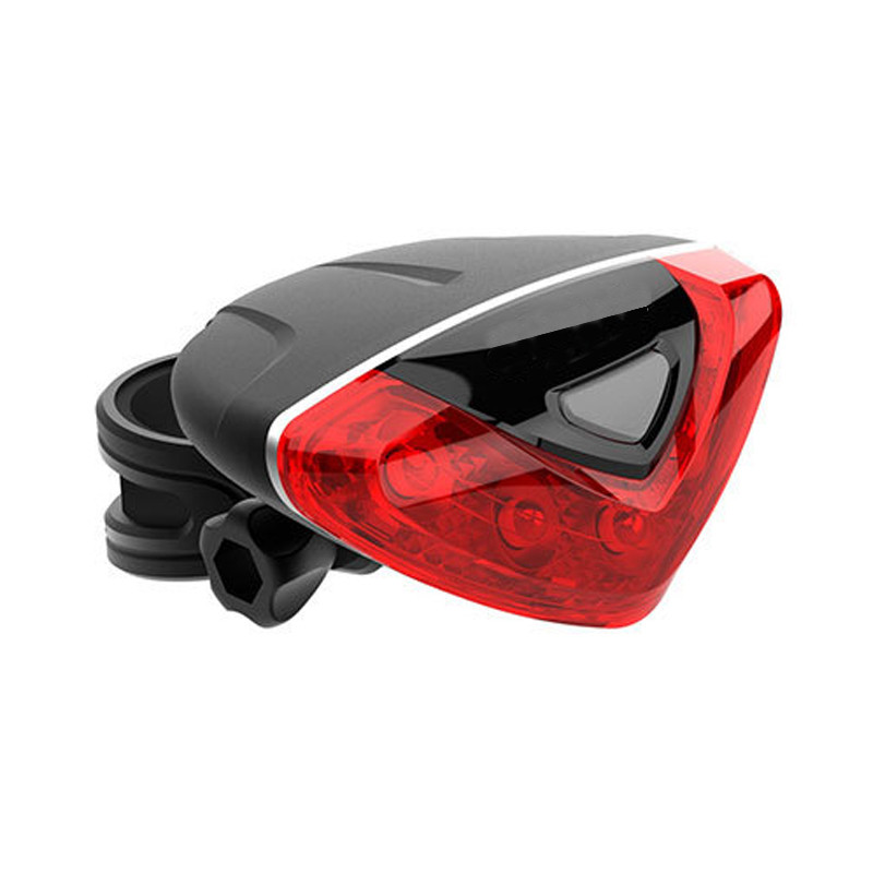 2018 New Outdoor tail light Accessories Bicycle Rear Tail light Red LED Flash Lights Cycling Night Safety Bike Warning Lamp Y4
