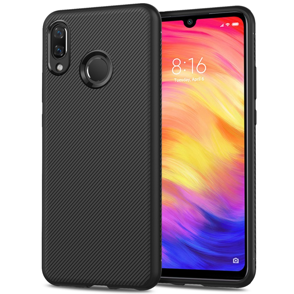 For Xiaomi Redmi Note 7 7 Pro Case Soft Silicone Slim Texture Matte TPU Case For Redmi Note 7 Pro Note 8 8 Pro Redmi 7A K20 Case