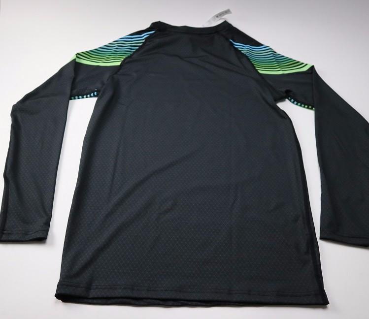 3 Sztuka Zestaw męska sport przebiegu stretch rajstopy legginsy + t shirt + spodenki spodnie treningowe jogging fitness gym kompresji garnitury 6