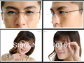 Best Sell flexible rimless non-screw 6g eyeglasses frame Prescription Lenses Pure B-Titanium Optical Frame