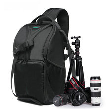 Camera Bag Waterproof New Pattern DSLR Camera Bag Backpack Video Photo Bags for Camera d7100 Small Compact Camera Backpack