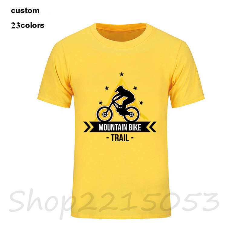2018 Casual TShirts Cycologist Cycle Men T-Shirts Cheap for Male O Neck Short Sleeve Tee T Shirts bikinger mountain biker dirt ...