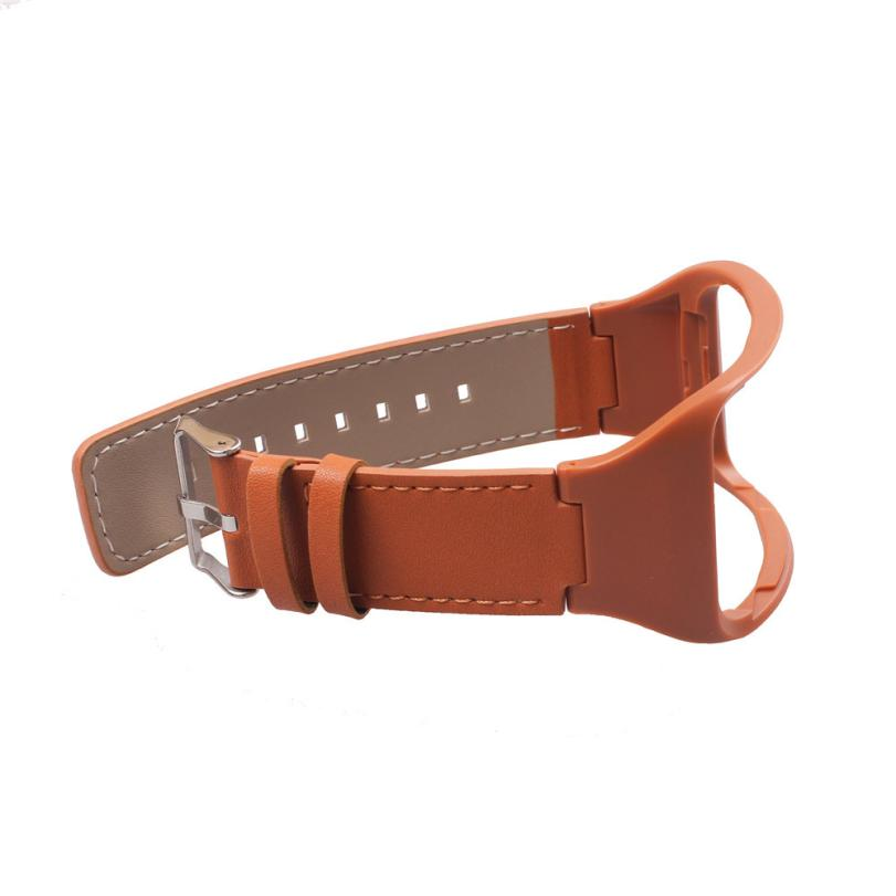 RA8 HL Genuine leather Watch Wrist Strap Band For Samsung Gear S SM-R750 Smart oct24