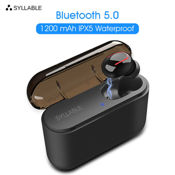 2020 New SYLLABLE Q32 Bluetooth V5.0 Earphone Wireless Stereo Earbud SYLLABLE Bluetooth Headset for Phone single SYLLABLE Q32 фото