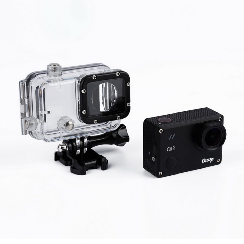 1 Set 2K 1440P Waterproof WiFi Action Camera DV WiFi Action Camera FOR GitUp Git2 free shipping gitup git2 16m ultra 2k wifi dv sports action helemet camera 18 in 1 accessories