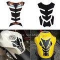 6 estilo para honda suzuki yamaha kawasaki ducati ktm aprilia benelli 3d cubierta de pegatinas calcomanías tanque de combustible de la motocicleta protector del cojín