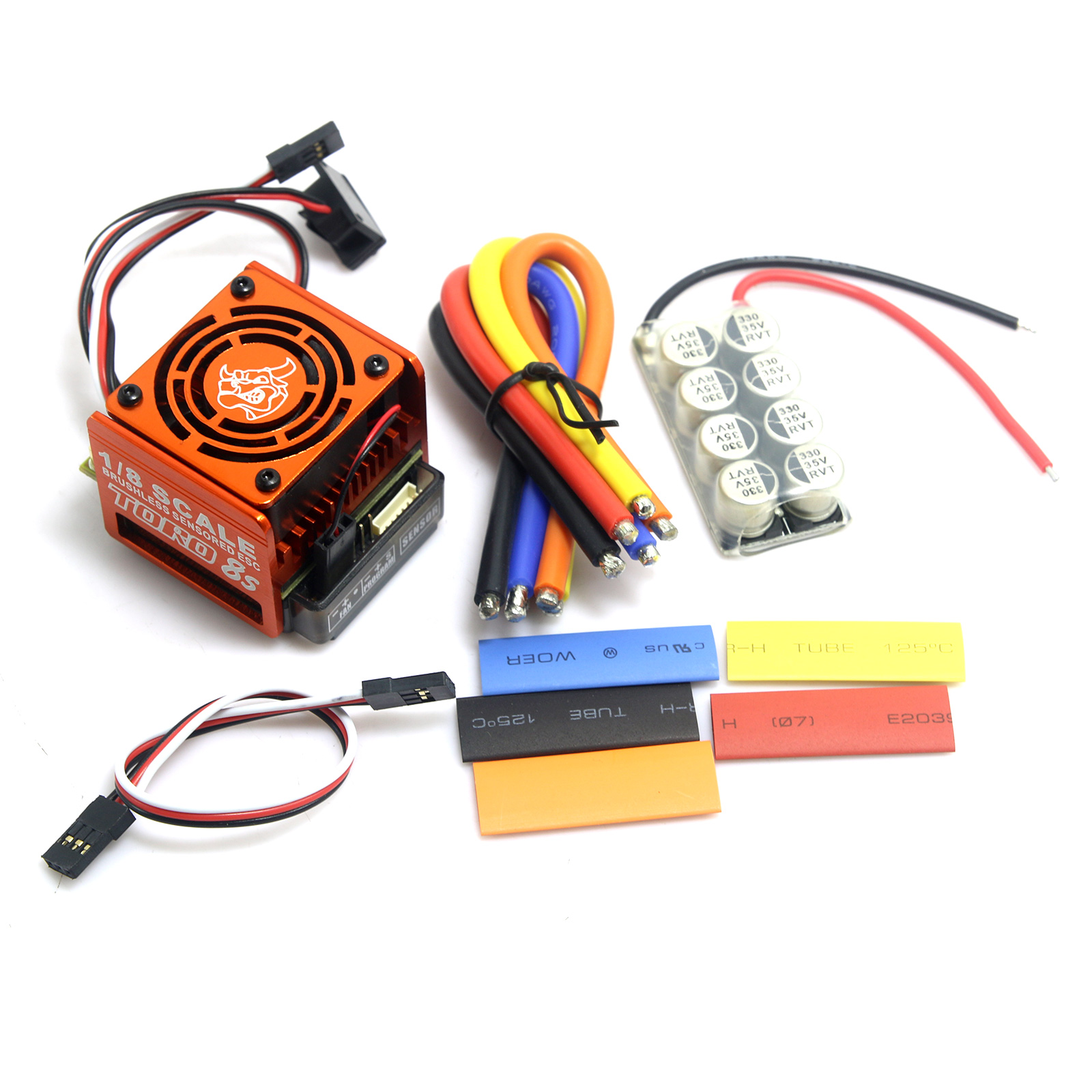 SKYRC Toro 8S 150A Brushless Sensor ESC Electronic Speed Controller for 1 8 RC Cars