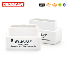 ELM 327 V1.5 Auto Diagnosis OBD OBD2 Car Diagnostic Tools ELM327 Bluetooth Adapter Scanner For Android Torque In Russian Spanish