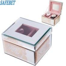 SAFEBET европейский бренд Стиль розовое золото Дважды часы духи коробка для хранения на день рождения друга шкатулка подарок Аксессуары коробка