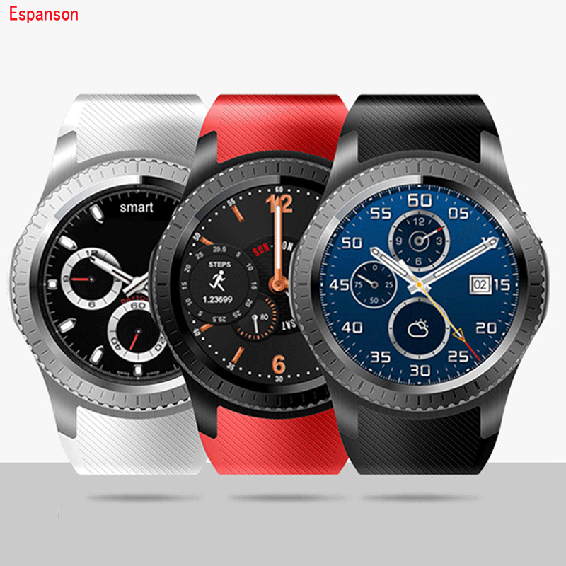 Espanson GW11 Smart Watch Android Sport Watch MTK6572A With SIM Card Slot Bluetooth Heart Rate Wifi GPS Camera Clock Smartwatch mymei android smart watch gt08 clock with sim card slot push message bluetooth connectivity phone better than dz09 smartwatch