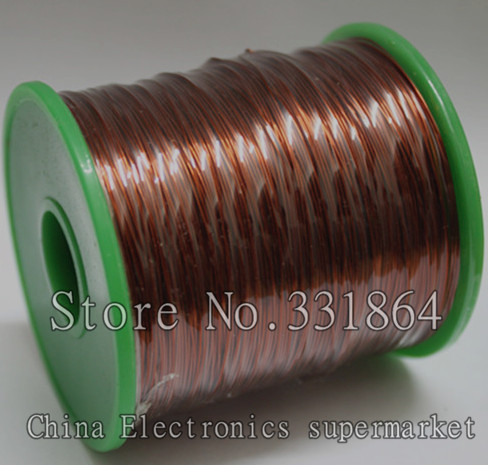 цена на QZY-2-180 Magnet Wire 1.0mm Enameled Copper wire Magnetic Coil Winding Item specifics High temperature Copper Wire 60m