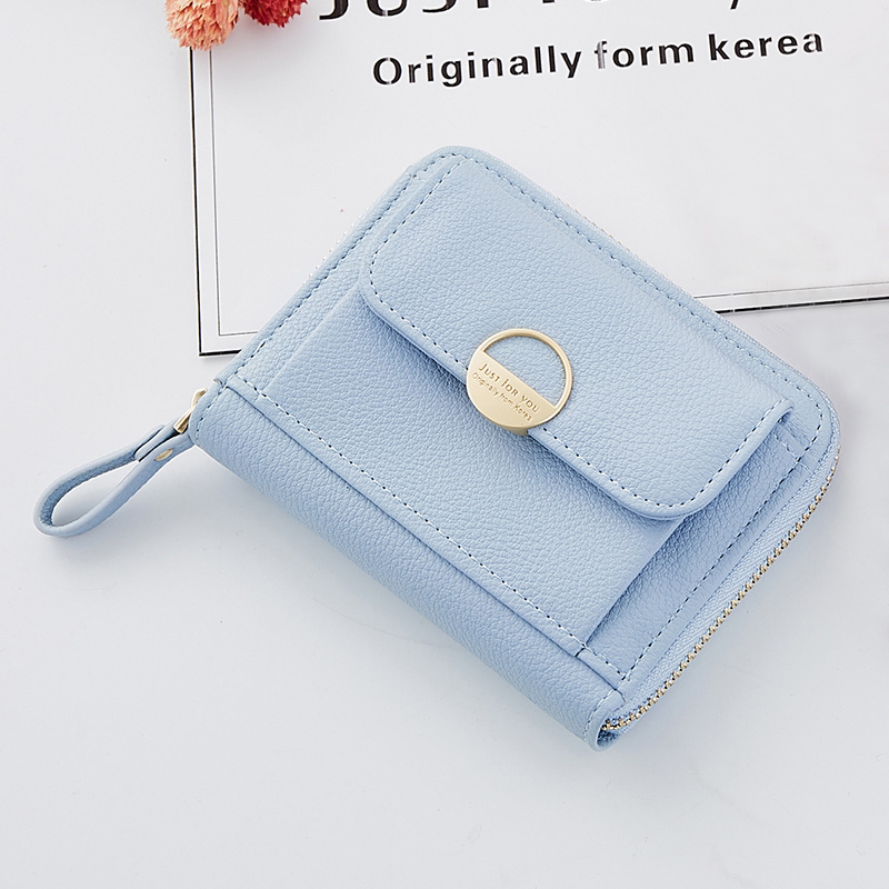 Casual Small Wallet Female Coin Purse High Quality Leather Wallets Women Short Photo Holder Pocket bags For Girls Dropshipping cartoon short wallet pocket monster pokemon satoshi pikachu short wallets two fold purse children wallet gift
