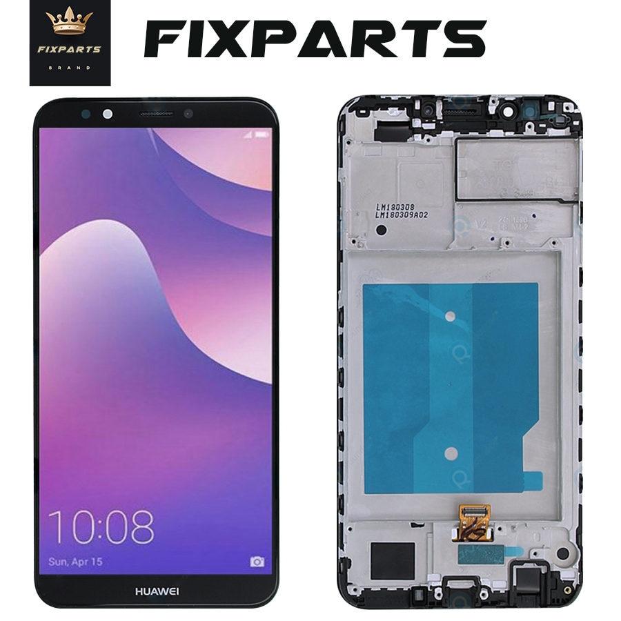 Für HUAWEI Y7 Prime 2018 LCD Display Touch Bildschirm Digitiz Für Huawei Y7 Pro 2018 LCD Mit Rahmen LND-L22 LX2 l21 LX3 L23 LX1 TL30