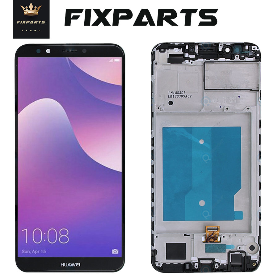 ЖК дисплей с рамкой для HUAWEI Y7 Prime 2018, дигитайзер сенсорного экрана для Huawei Y7 Pro 2018, ЖК дисплей с рамкой для LX1, L21, LX3, L23, LX1, TL30|lcd display touch screen|touch screen digitizerdisplay lcd touch screen | АлиЭкспресс