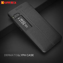 Litchi silicone case for Meizu Pro 7 funda hoesje lychee leather pattern soft tpu cover for meizu pro 7 plus coque etui kryt tok