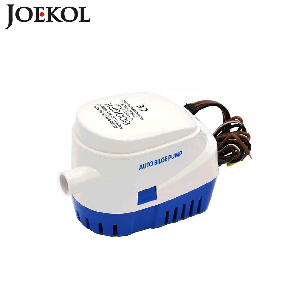 Free shipping DC12V/24V electric pump for boats accessories marin,Automatic bilge pump 600GPH auto submersible boat water pump free shipping clb series submersible water pump for pond