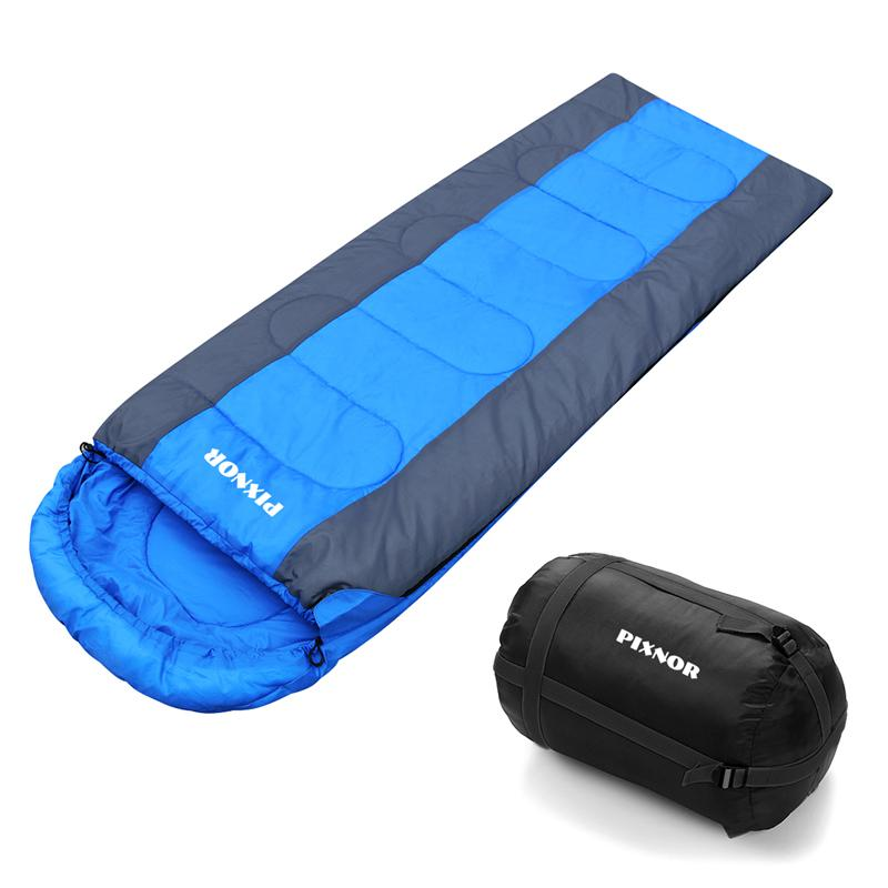 PIXNOR Lightweight Envelope Waterproof Durable Backpacking Practical Sleeping Bag For Hiking Camping Outdoors Activity