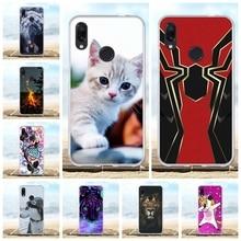 For Xiaomi Redmi Note 7 Pro Case Soft Silicone TPU Cover Dog Pattern Funda