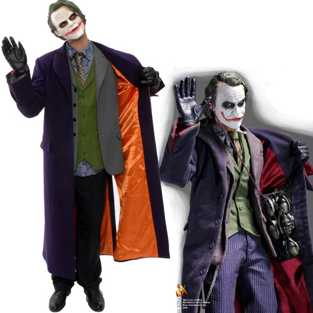 suicide squad the dark knight rises the joker halloween cosplay costume